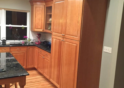 Cherry Kitchen Cabinet Project