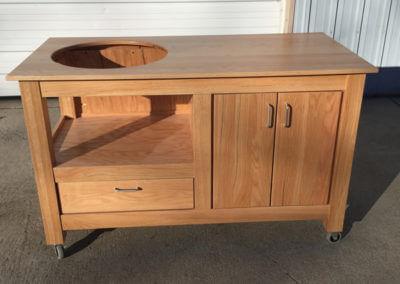 Oak Egg Cabinet Project