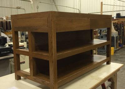 Oak Kitchen Cabinet Project