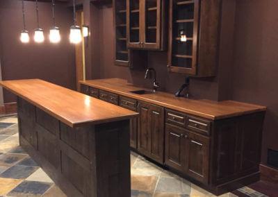 Oak Island Kitchen Cabinet Project