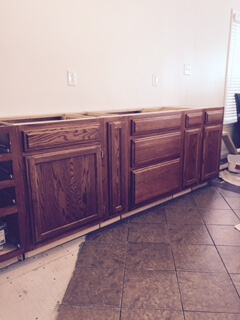 Wood Cabinets 4