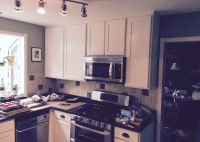 Wood Kitchen Cabinet project
