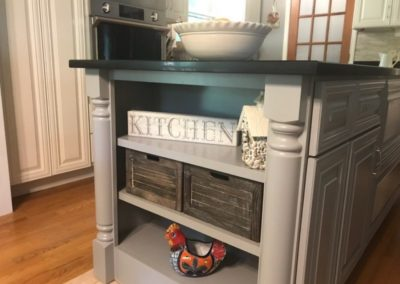 Kitchen Island Remodel Project