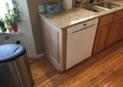 kitchen remodel cabinet project