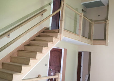 Stairway wood project