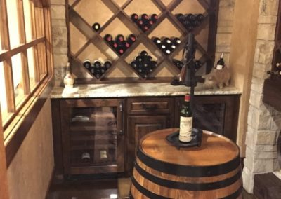 Wine Rack wood project